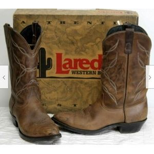Avonite Shoes - Avonite Western Cowboy Pull on Boots Mens sz 10 D